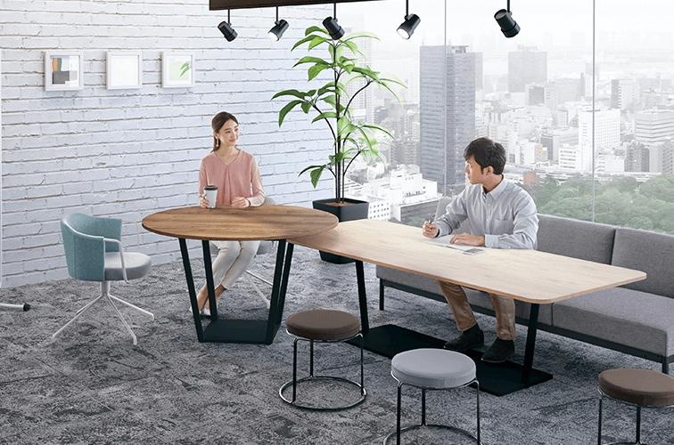 オフィス家具サービスで解決できます
