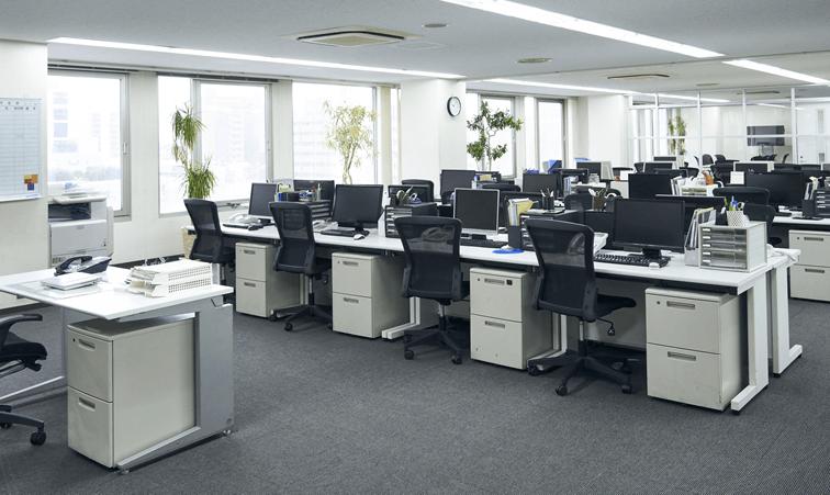 そのお悩み、広島オフィスデザインのタイルカーペットサービスで解決できます